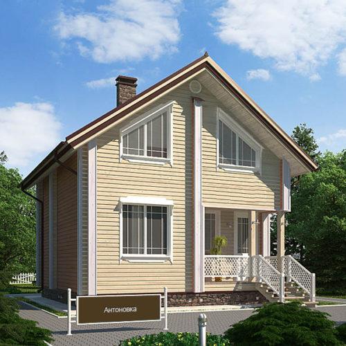 Проект каркасного дома Антоновка