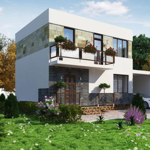 Проект керамического дома Брук