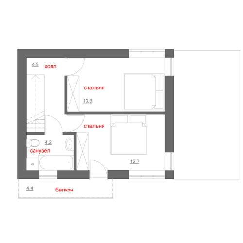 план керамического дома Брук