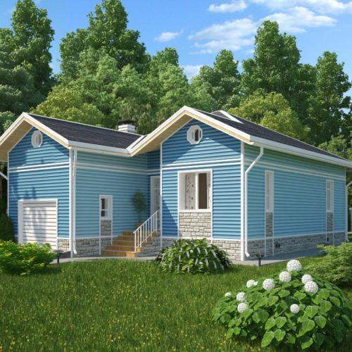Проект каркасного дома Гавань