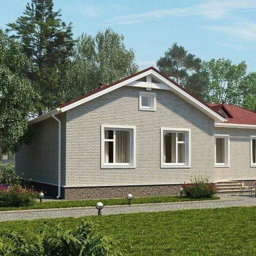 Проект кирпичного дома Кастл