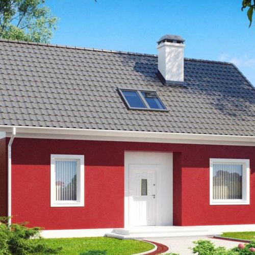 Проект керамического дома Надежда
