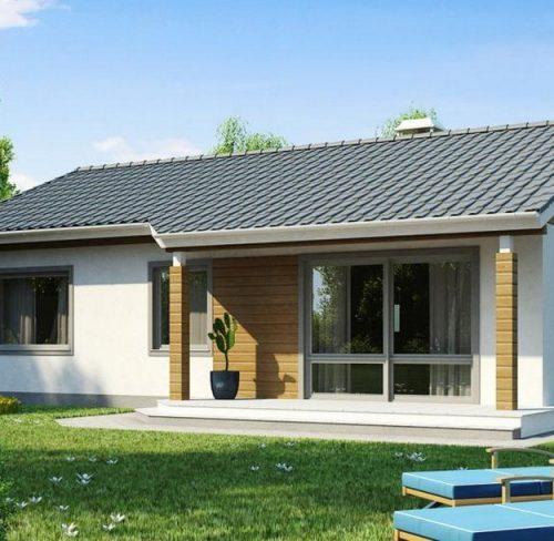 проект керамического дома Ольга