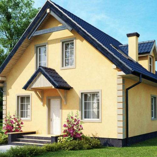 Проект керамического дома Пелагея