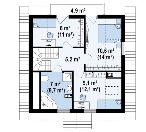 план керамического дома Пелагея