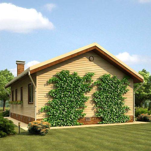 Проект каркасного дома Тучка