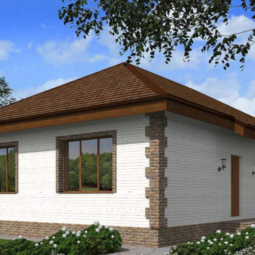 Проект кирпичного дома Реарден