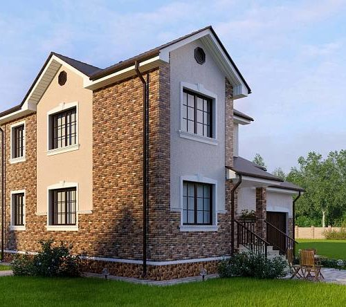 Проект каркасного дома Гудзон