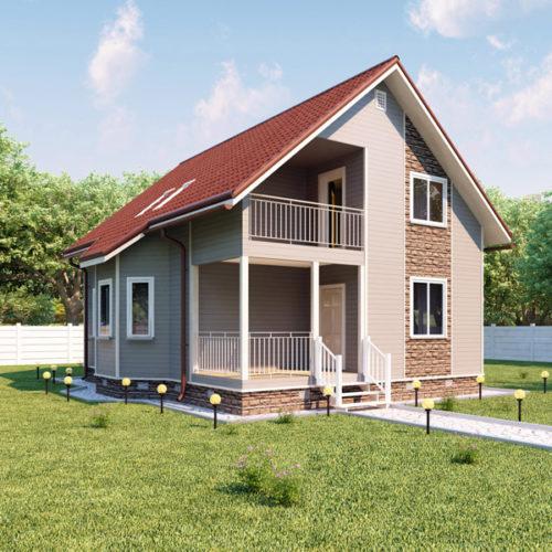 Проект каркасного дома Нави