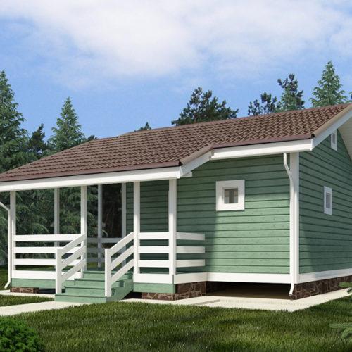 Проект каркасного дома Толиман