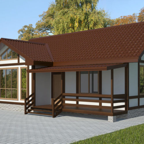 Проект каркасного дома Уилсон
