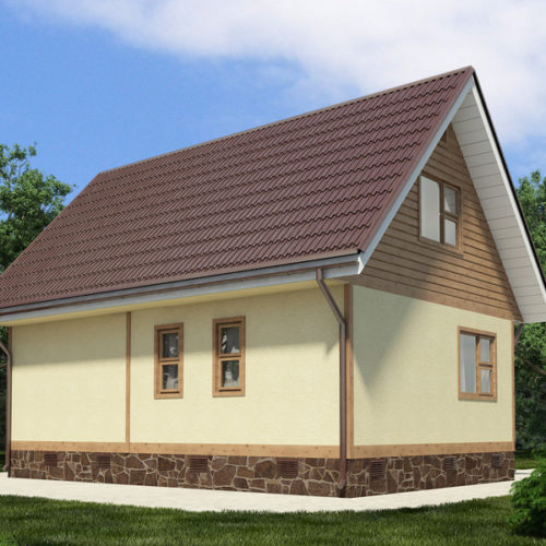 Проект дома Рада-87
