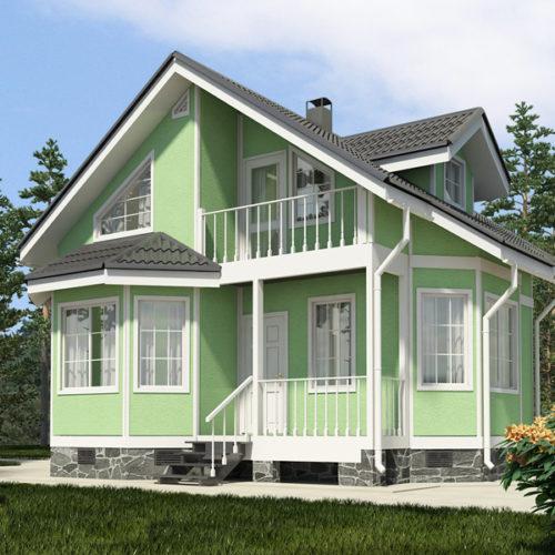 Проект дома Скандик-91