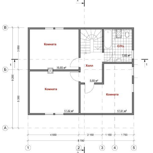 План дома Скиф-139