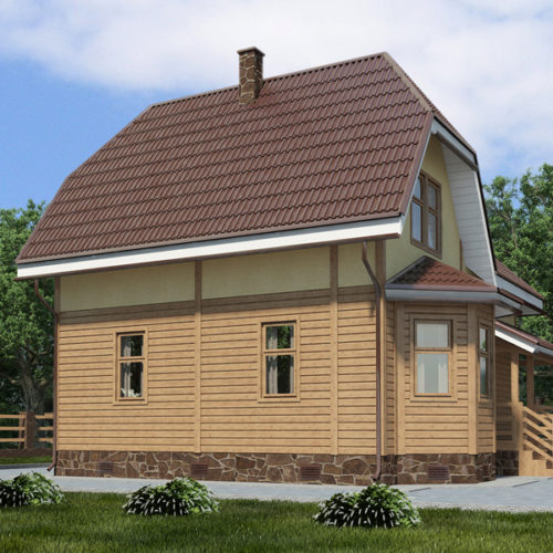 Проект дома Скиф-139