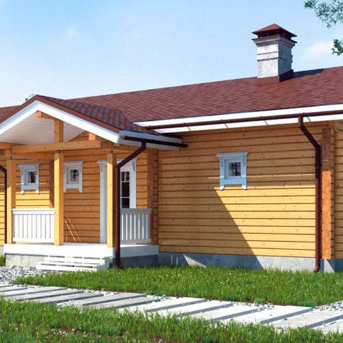 Проект дома из бруса Цфат