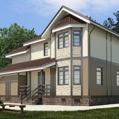 Проект каркасного дома Эридана